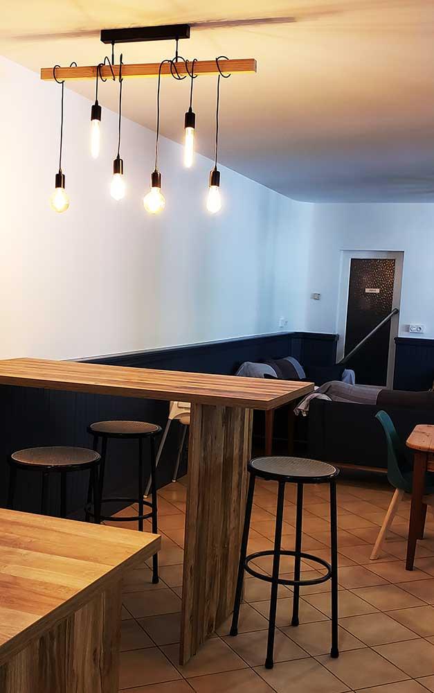 Espace bar - Relais d'Avajan