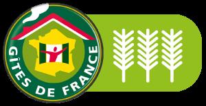 labelisé Gite de France - 3 épis